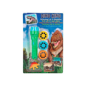 Dino World Torch With Visual Effects Toys Top Model