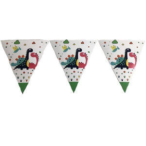 Dinosaur Party Bunting Banner Parties Not specified