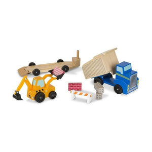 Dump Truck and Loader Toys Melissa & Doug