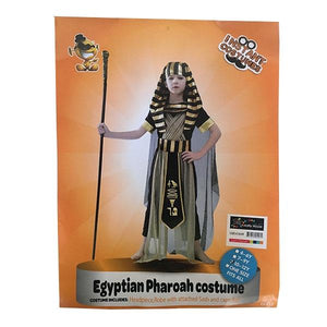 Egyptian Pharaoh Costume (Age 10-12) Dress Up Not specified