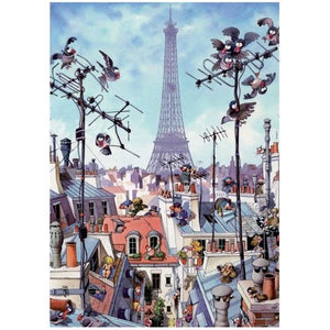Eiffel Tower 1000pc Heye Puzzle Toys Not specified