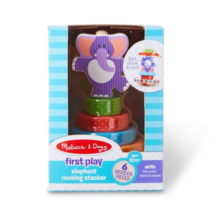 Elephant Rocking Stacker Toys Melissa & Doug
