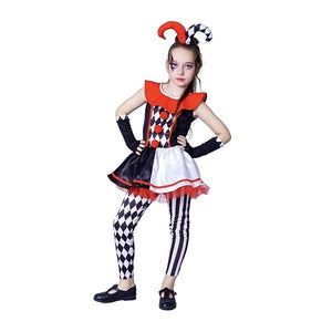 Evil Jester Girls Outfit Dress Up Not specified