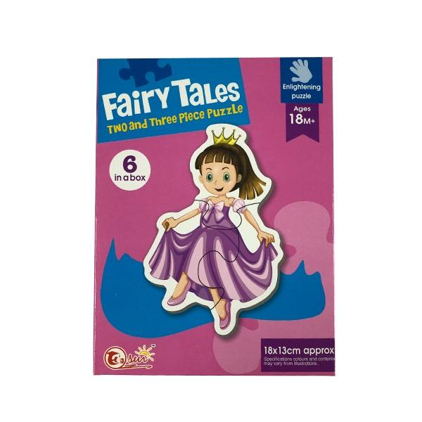 Fairy Tales 2pc & 3PC Puzzle