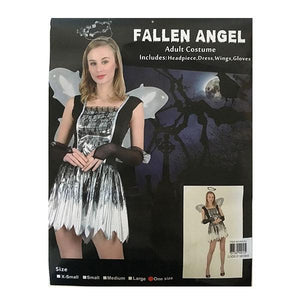 Fallen Angel Costume- Adult Dress Up Not specified