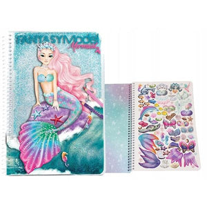 Fantasy Model Mermaid Colouring Toys Top Model