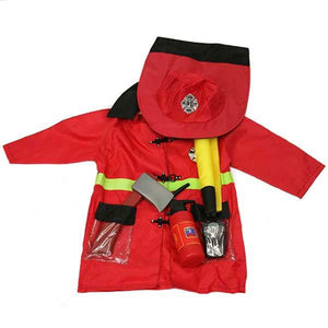 Fireman Outfit (Age 3-6) Dress Up Le Sheng