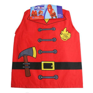 Fireman Shirt (Age 3-6) Dress Up Not specified