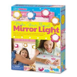Floral Mirror Light Toys 4M