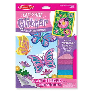 Flower and Butterfly Scenes - Mess Free Glitter Toys Melissa & Doug