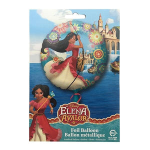 Foil Balloon Elena Parties Not specified