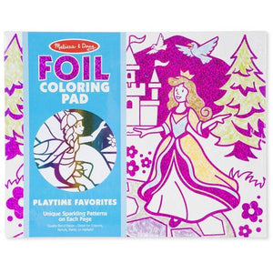 Foil Colouring Pad Playtime Favourites Toys Melissa & Doug