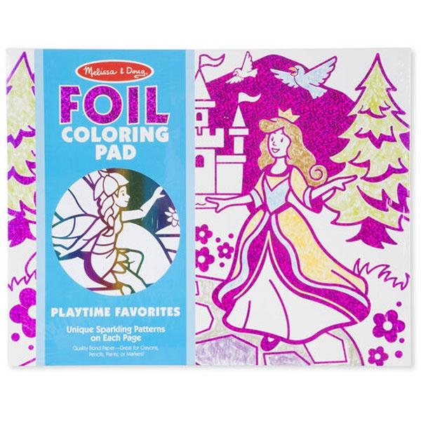 Foil Colouring Pad Playtime Favourites