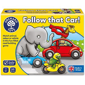 Follow The Car Game Toys Orchard Toys