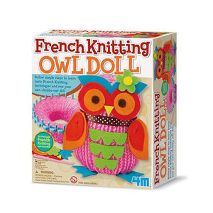 French Knitting Owl Doll Toys 4M