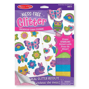 Friendship Foam Stickers - Mess Free Glitter Toys Melissa & Doug