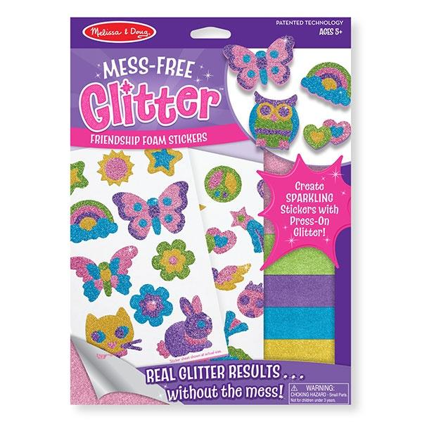 Friendship Foam Stickers - Mess Free Glitter