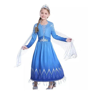 Frozen 2 Elsa Dress Dress Up Not specified