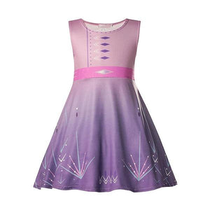 Frozen 2 Elsa Dress Pink Casual Dress Up Not specified
