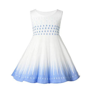 Frozen 2 Elsa Dress White Casual Dress Up Not specified