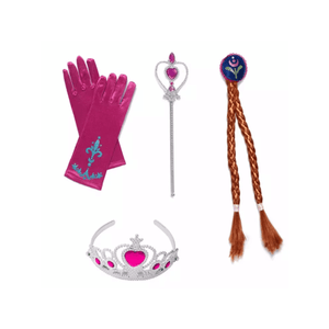 Frozen Anna Accessories Set Dress Up Not specified