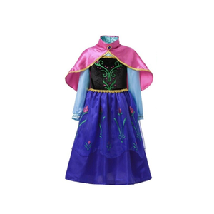 Frozen Anna Dress & Cape General Not specified