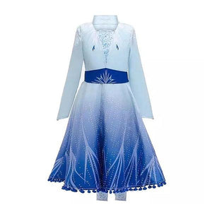 Frozen Elsa Coat Dress Up Not specified