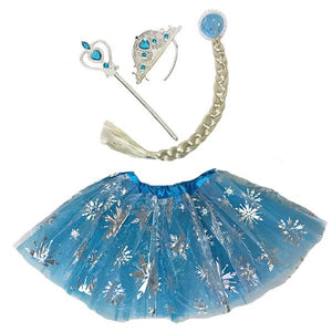 Frozen Elsa Tutu Set (Age 3-6) Dress Up Not specified
