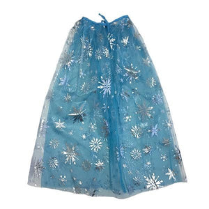 Frozen Snowflake Cape Dress Up Not specified