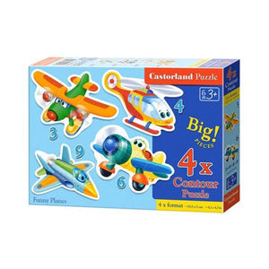 Funny Planes 3+4+6+9pc Toys Not specified