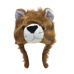 Furry Lion Hat Dress Up Not specified