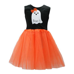 Ghost Boo Tutu Dress Dress Up Not specified
