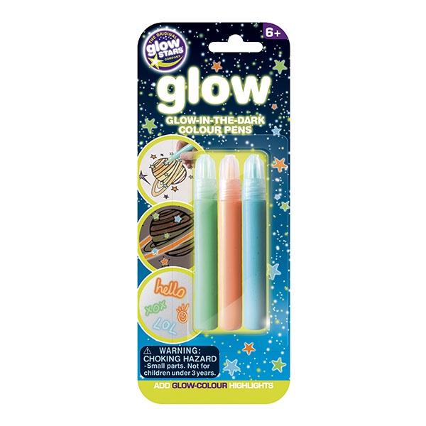 Glow-in-the-Dark Colour Pens