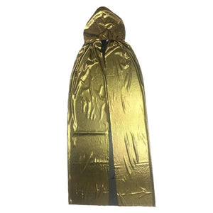Gold or Silver Cape 1.15m Dress Up Not specified Gold