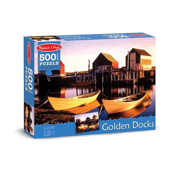 Golden Docks (500pc) Jigsaw Puzzle