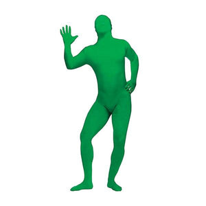 Green Morph Suit Adult Dress Up Not specified