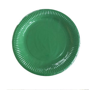 Green Paper Plates Parties Not specified
