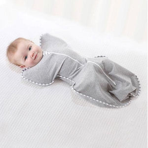 Grey Cotton Baby Swaddle Clothing Not specified