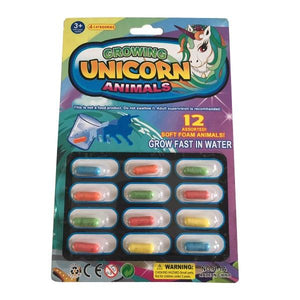 Growing Unicorn Sponges Toys Not specified