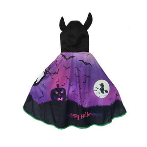 Halloween Witch Kids Cape Dress Up Not specified
