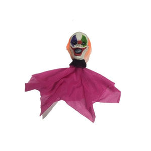 Hanging Clown Head Mini Dress Up Not specified