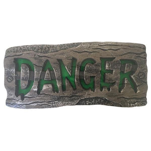 Hanging Danger Sign - Light Up Dress Up Not specified