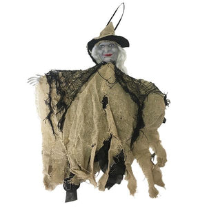 Hanging Witch With Sound Dress Up Not specified