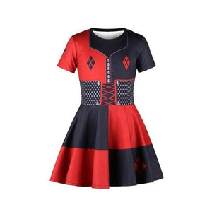 Harley Quinn Dress Dress Up Not specified