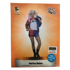 Harley Quinn Outfit (Teen to Small Adult) Dress Up Not specified