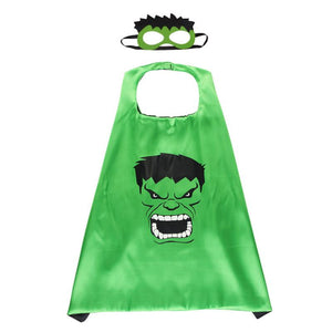 Hulk Cape & Mask Dress Up Not specified