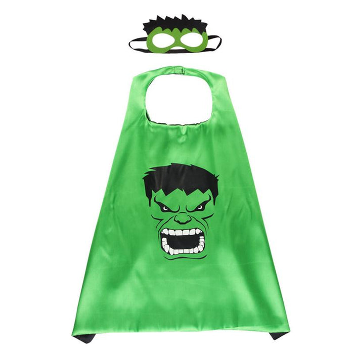 Hulk Cape & Mask