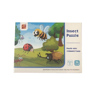 Insect Puzzle 24pc Toys Not specified