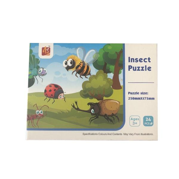 Insect Puzzle 24pc