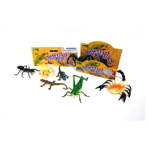 Insects and Reptiles Bag of 8 Toys Not specified